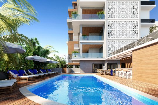Luxury Two Bedroom Apartments in Germasogia Tourist Area