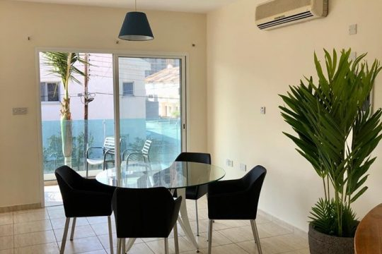 Two bedroom floor-apartment in germasogeia tourist are