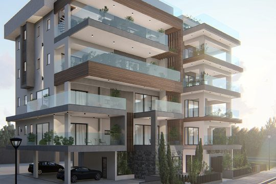 Brand new one bedroom apartment in Agios Athanasios