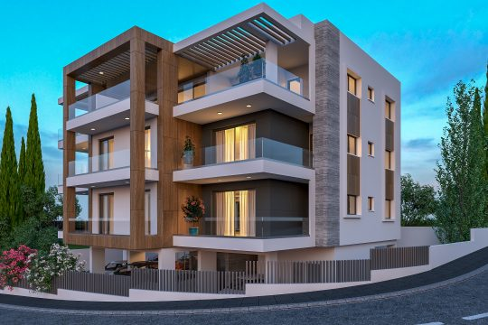 New two bedroom apartments in Agios Athanasios
