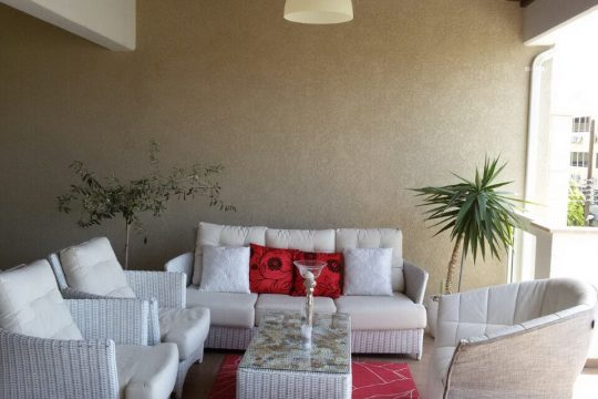 Luxurious three bedroom apartment in Germasogeia Tourist Area