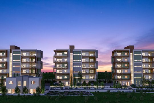 Apartments at the heart of Limassol's tourist area