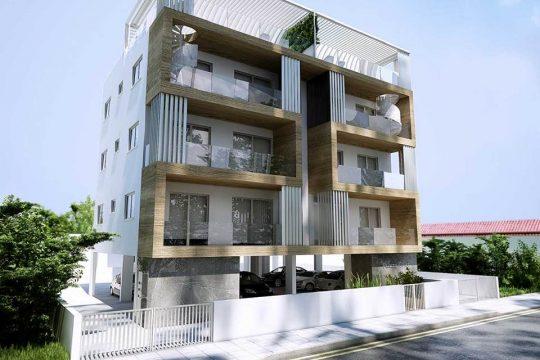 Современная 2-комнатная квартира с Садом на Крыше в Лимассоле