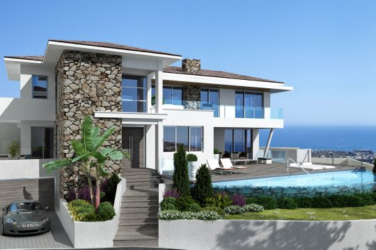 Detached luxury 4 bedroom villas in Agios Tychonas for sale