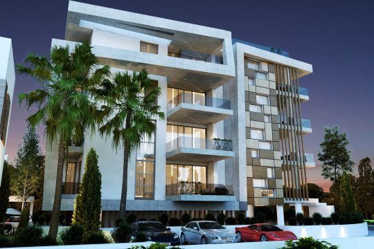 3 bedroom apartment with spacious veranda in Limassol