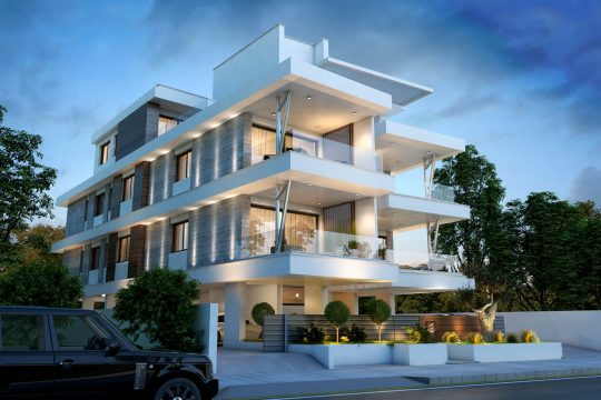 Spacious penthouse apartments located just in the heart of Germasogeias tourist area of Limassol