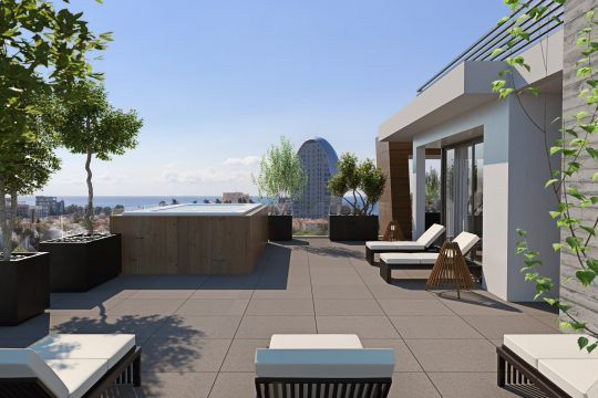 Modern 2  bedroom apartment for sale