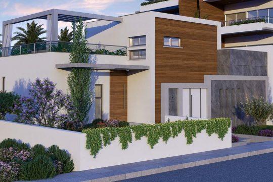 Роскошная жизнь, современный дизайн, вилла мечты в районе Гермасойя