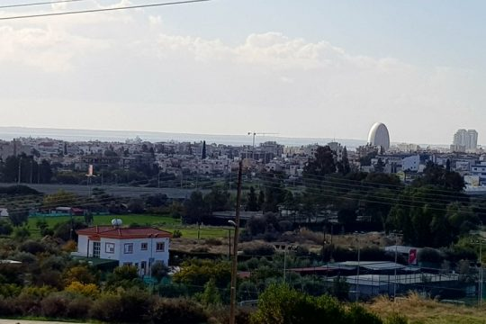 2 plots in prestigious area of Mesovounia in Limassol with sea view