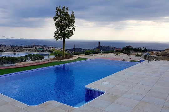 Villa in Agios Tychonas with magnificent sea view