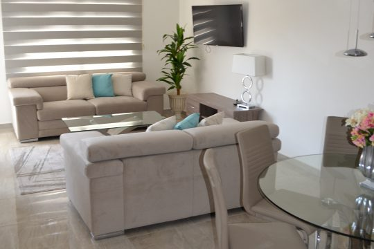 Renovated modern 2 bedroom apartment in Germasogeia tourist area