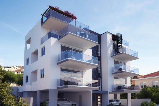 2 Bedroom Luxury Apartment at Panthea area in Limassol