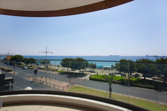 3 bedroom new modern apartment near Molos in Limassol