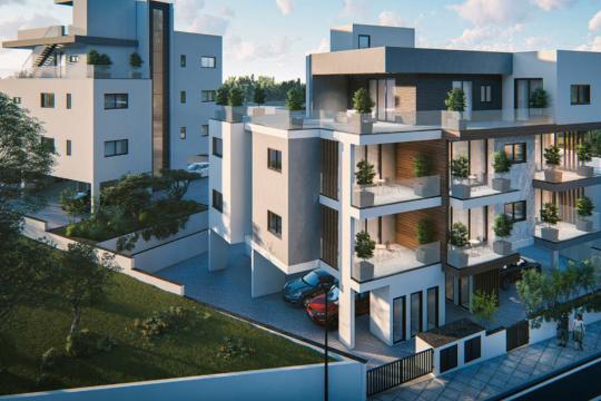 1 bedroom modern apartment in Pareklissia