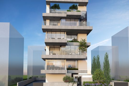 Modern 2 bedroom apartment in Germasogeia tourisa area, Limassol