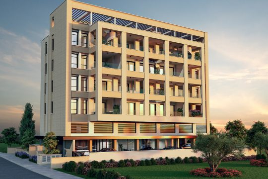 2 bedroom Modern Apartment in Dasoudi, Limassol with unobstructed sea view
