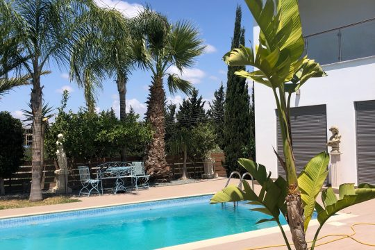 5 Bedrooms Fully Furniture detached Villa in Potamos Yermasogia Limassol