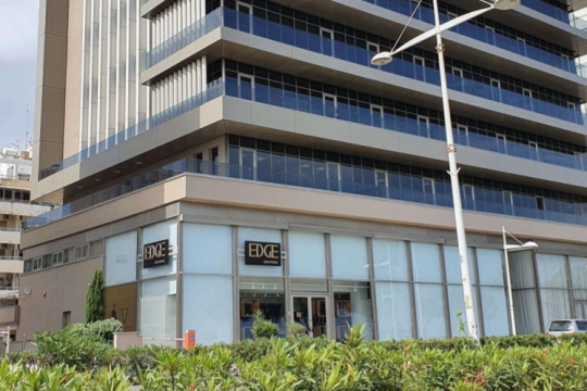 Office spaces at Sea Front business center.