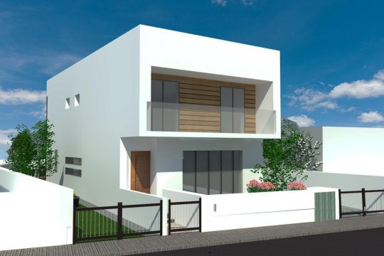 4-bedroom detached-house in quiet area in Paramytha(under construction)