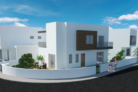 3-bedroom detached-house in quiet area in Paramytha(under construction)