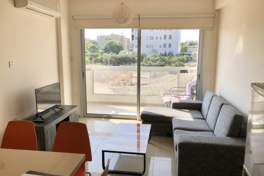 2 bedrooms apartment for rent in Mouttagiaka Tourist Area