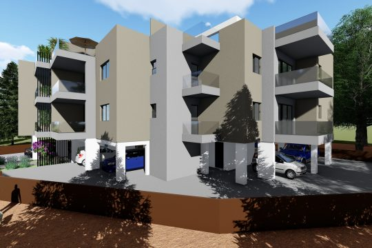 Under construction two bedroom apartment for sale in Pareklisia