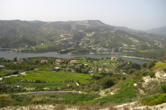Exclusive land for sale with plans and building permits at Foinikaria