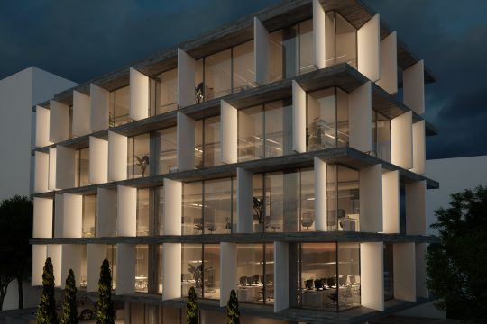 Modern spacious office in center of Limassol