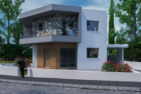 Three bedrooms house in Ypsonas