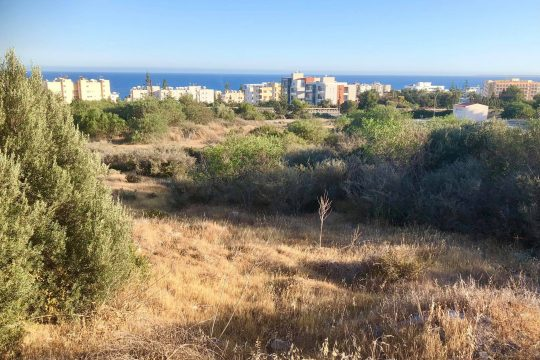 Land for sale in Agios Tychonas near the highway and the beach