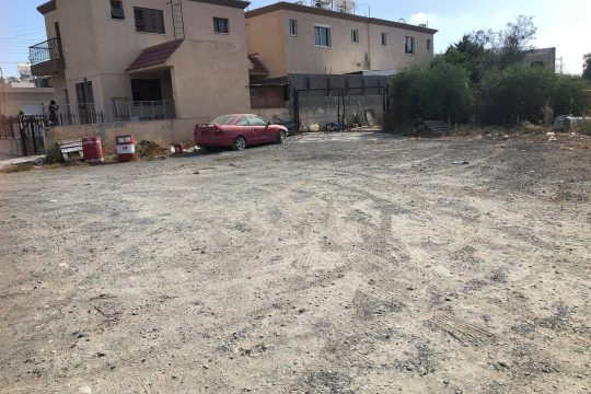 Land (approximately 670 sq. m.) for sale in a quiet residential approximately 400 metres northwest of the center of the Ypsonas village