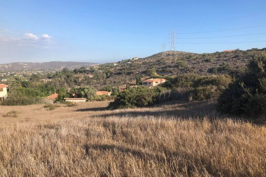 Land for sale or trade in Pyrgos Village