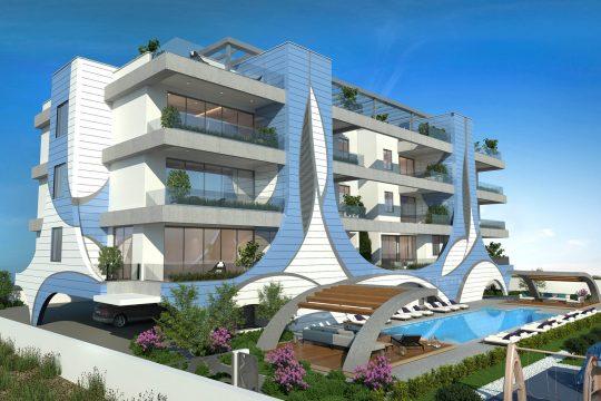 One Bedroom Apartment Germasogia Tourist Area