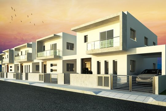 New three bedroom house for sale in Ypsonas