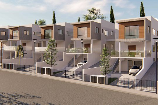 4 bedroom family house for sale in Agios Athanasios ( under construction )