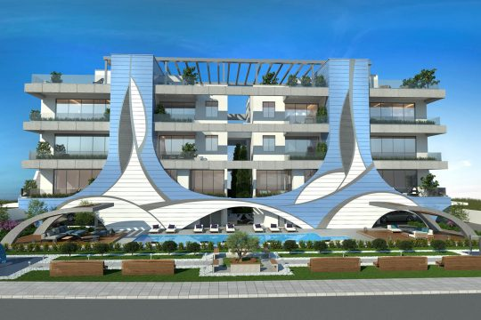 Brand new, luxury 1 apartment for sale in Limassol