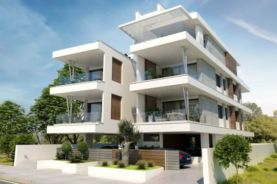 Spacious 1  bedroom apartments located just in the heart of Germasogeias tourist area of Limassol