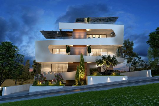 Two bedroom luxury apartments in Limassol for sale