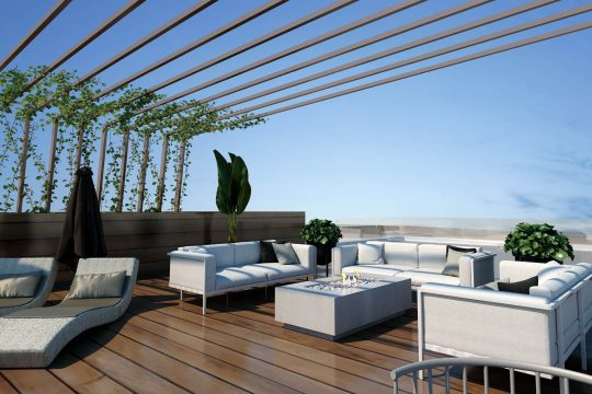 Two bedroom luxury penthouse in Limassol for sale