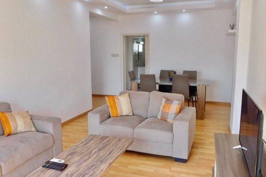 Renovated apartment  across Amathus  Hotel