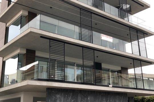Luxury, brand new three bedroom penthouse floor-apartments in Germasogeia Tourist Area