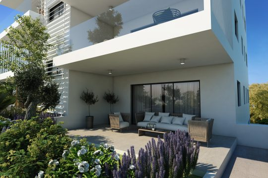 Modern 2 bedroom apartment in Ekali
