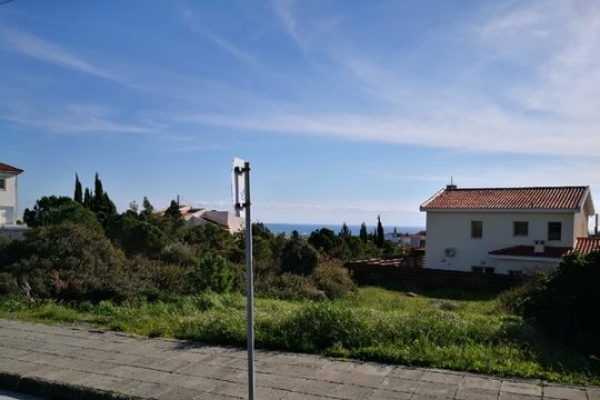 Plot in Episkopi with sea view