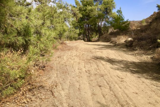 Land 2676 sq. m. for sale in Kelaki with magnificent view