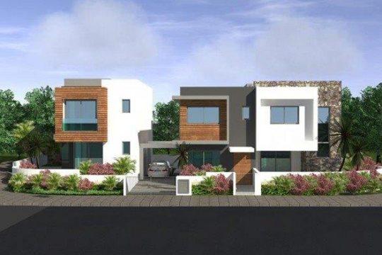 Modern house in Ypsonas