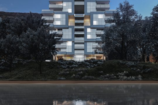 2 Bedroom Prestigious Seafront Apartments located in most desired Agios Tyxonas tourist area