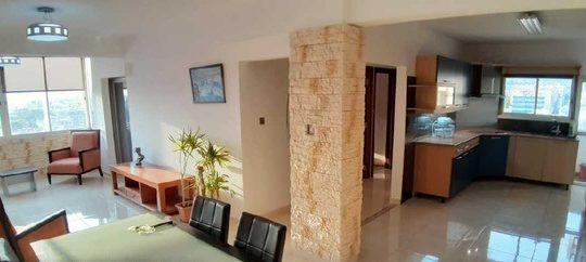 Luxury 3-bedroom fully furnished in a central location