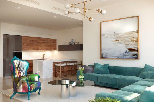 Luxurious 1 bedroom apartment in Germasogeia Tourist Area