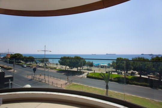 3 bedroom new modern apartment near Molos in Limassol