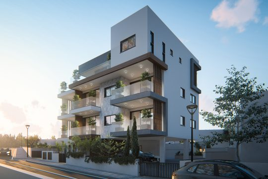 2 bedroom modern apartment in Pareklissia